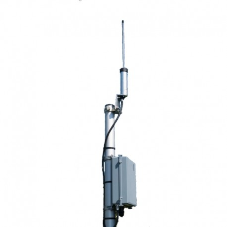 Fixed receiver of signals transmitted by 406 MHz distress beacons